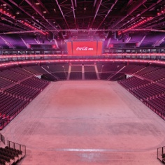 Raised access floor for Dubai Arena