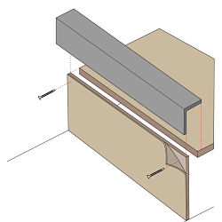 RAISED ACCESS FLOOR ACCESSORIES FASCIA