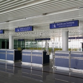False Floor for Airport Terminals